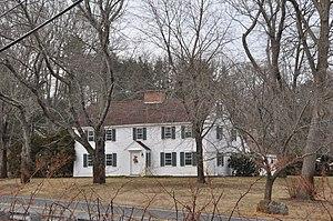 Abbot-Baker House - Image: Andover MA Abbot Baker House