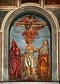 Andrea del castagno, trinità e san girolamo tra le ss. paola ed eustochia, 1453-54 ca. 01.jpg