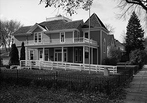 Andrew John Volstead House - The Andrew John Volstead House from the northeast