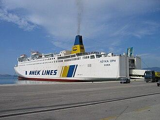 ANEK Lines - F/B Lefka Ori