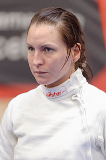 Anfisa Pochkalova Ukrainian fencer