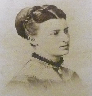 Anna Boch - Photo of Anna Boch (before 1900)