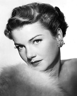 Anne Baxter - Publicity photo, circa 1950