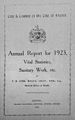 Annual Report for 1923, Vital Statistics, S Wellcome L0029928.jpg