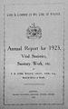 Annual Report for 1923, Vital Statistics, S Wellcome L0029928.jpg