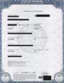 Annunaki Marquez's Colorado Birth Certificate.webp