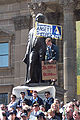 Ansett Demonstration at State Library of Victoria 1 - 14th Sept 2001.jpg