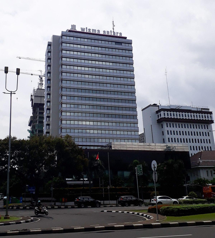 Wisma milik Kantor Berita Nasional ANTARA
