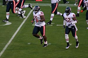 Anthony Adams - Adams and Jamar Williams taking the field in 2009