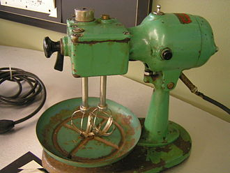 "KitchenAid - A prototype KitchenAid Model A ""Kaidette"" stand mixer, produced in the 1930s"