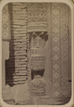 Antiquities of Samarkand. Tomb of the Saint Kusam-ibn-Abbas (Shah-i Zindah) and Adjacent Mausoleums. Mausoleum of Emir Kutuluk Turdi Bek Aka. Column Base WDL3653.png
