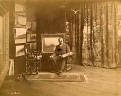 Antoine Guillemet in his studio.jpg