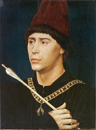 Anthony, bastard of Burgundy - Portrait by Rogier van der Weyden