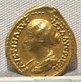 Antonino pio, aureo per faustina minore, 147-161 ca., 05.JPG