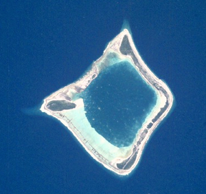 Anuanuraro - NASA picture of Anuanuraro Atoll