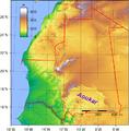 Aoukar-Mauritania Topography.png