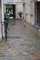 Apartment courtyard after shower, 137 Rue du temple, Paris 1.jpg