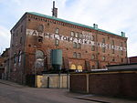 The Appeltofftska brewery in Halmstad, Sweden