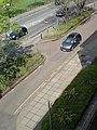 Approach road, Queen Anne Car Park, Cambridge - geograph.org.uk - 1262715.jpg
