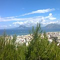 April 2017 view of Patras from the dassilio (small forest).jpg