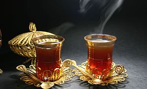 Arabic tea - Image: Arabic tea