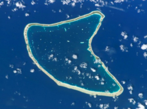 Aratika - NASA picture of Aratika Atoll