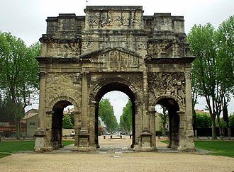 Triumphal Arch of Orange - Monumental Arch of Orange