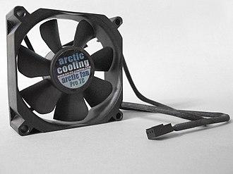 Arctic (company) - A model of Arctic Cooling 80mm computer fan