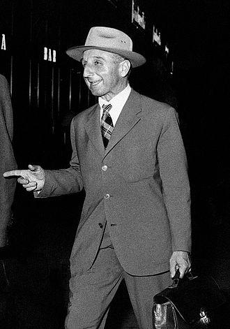 Ardito Desio - Ardito Desio in 1955
