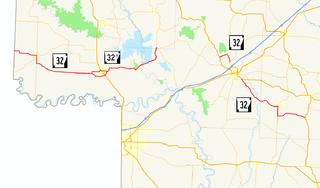 Arkansas Highway 32 highway in Arkansas