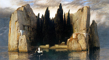 Arnold Boecklin - Island of the Dead, Third Version.JPG