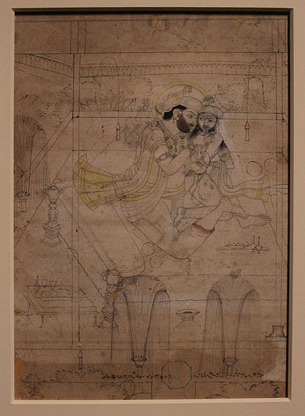 File:Art Gallery of South Australia - 'A ruler and his favourite' (12097871714).jpg