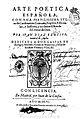 Arte poetica española 1606 Díaz Rengifo.jpg