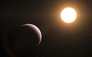 Tau Boötis b Extrasolar planet that is 51 light years away