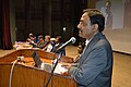 Asish Mazumdar Addressing - Inaugural Function - Bengali Wikipedia 10th Anniversary Celebration - Jadavpur University - Kolkata 2015-01-09 2519.JPG