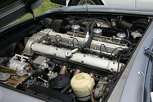 Aston Martin DBS - The Tadek Marek-designed inline-six engine of a DBS