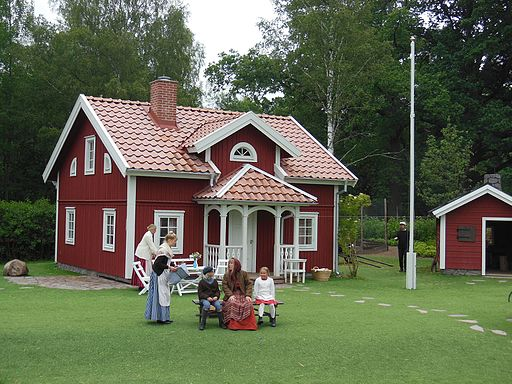 Astrid Lindgrens Värld - Katthult 2014