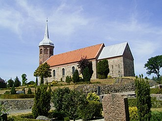Arden Municipality - Astrup Kirke (Astrup Church) Arden, Mariagerfjord Kommune, Denmark