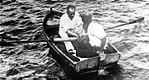 Atatürk in a rowboat, 1934.jpg