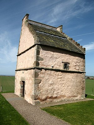 Athelstaneford - Athelstaneford Heritage Centre is housed in a Doocot built in 1583