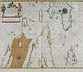 Atlas maritimus, or A book of charts - Describeing the sea coasts capes headlands sands shoals rocks and dangers the bayes roads harbors rivers and ports, in most of the knowne parts of the world. (14751116044).jpg