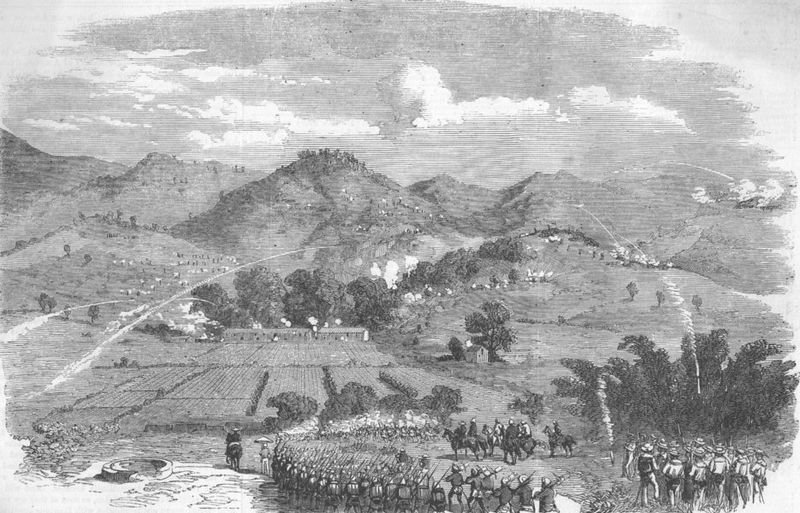 File:Attack on the Braves near the White Cloud Mountain Canton.jpg