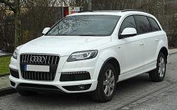 Audi Q Vikipēdija - Q7 audi