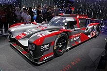 2016 Spec Audi R18 At The Paris Motor Show