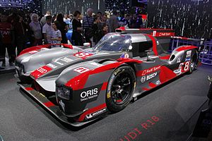 Audi R18 - 2016-spec Audi R18 at the 2016 Paris Motor Show