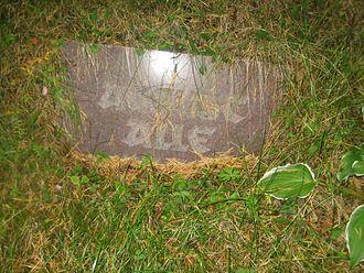 August Alle - August Alle's grave marker at Metsakalmistu cemetery in Tallinn