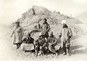 Tarim mummies - Sir Aurel Stein in the Tarim Basin, 1910