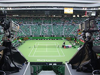 Australian Open - Inside Rod Laver Arena prior to an evening session in 2007