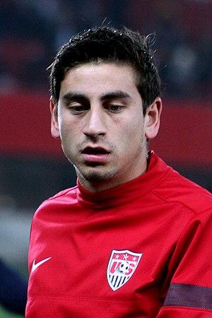 Alejandro Bedoya - Image: Austria vs. USA 2013 11 19 (102)