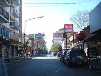 Florida Este, Buenos Aires - Image: Avenida General San Martín